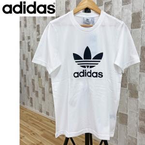 アディダス オリジナルス adidas Originals adidas trefoilプリント クルーネック 半袖Tシャツ topism