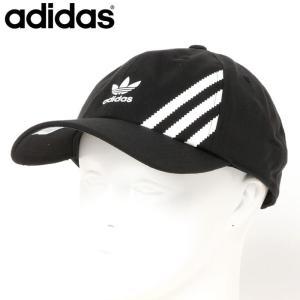 アディダス オリジナルス adidas Originals トレフォイルロゴ スリーストライプ ベースボールキャップ 帽子 EV7698 topism