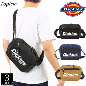 Dickiesの定番ロゴプリントがアクセントのミニショルダーバッグ。 扱いやすいファスナー持ち手。 ...