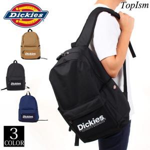 Dickies ディッキーズ デイパック メンズ リュック リュックサック バックパック B4 PC収納 男性 通勤 通学 男女兼用 ブランド 軽量 topism