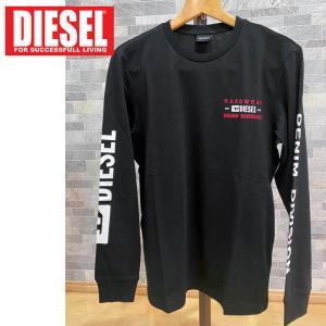 DIESEL ディーゼル グラフィックプリント ロンT ロングスリーブ Tシャツ カットソー 長袖 メンズ ブランド|topism
