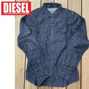 DIESEL ディーゼル ウエスタン デニムシャツ 「NEW-SONORA」 メンズ ブランド|topism