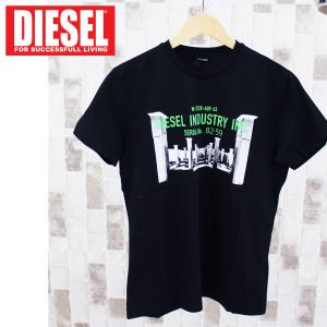 DIESEL ディーゼル ロゴプリント クルーネック 半袖Tシャツ「T-DIEGO-S13」メンズ ブランド|topism