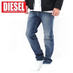 DIESEL ディーゼル JOGG JEANS スリムスキニー ダメージ デニムパンツ ジョグデニム「THOMMER-T」 メンズ ブランド|topism