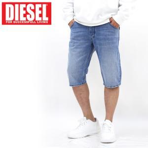 DIESEL ディーゼル ビンテージウォッシュ デニム ジーンズ ハーフパンツ ショートパンツ「KROSHORT」メンズ ブランド|topism