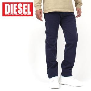 DIESEL ディーゼル チノパン ストレッチ レギュラーフィット ストレート テーパードパンツ BUSTER メンズ ブランド|topism