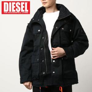 DIESEL ディーゼル バック刺繍 ミリタリージャケット M-65 ジャケット「J-TOUCHA」|topism