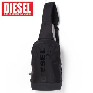 DIESEL ディーゼル ボディバッグ メンズ ワンショルダーバッグ ロゴプリント「SUSE MONO」メンズ ブランド|topism