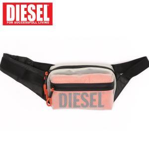 DIESEL ディーゼル ボディバッグ メンズ ウエストポーチ ロゴ「SUSEGANA」メンズ ブランド|topism