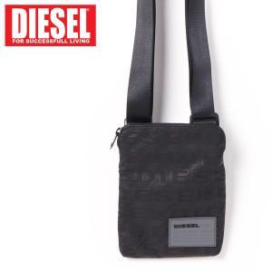 DIESEL ディーゼル ボディバッグ ロゴプリントミニポーチショルダーバッグ「F-DISCOVER CROSS」メンズ ブランド|topism