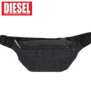 DIESEL ディーゼル ボディバッグ デニム ウエストポーチ「D-SUBTORYAL」メンズ ブランド|topism