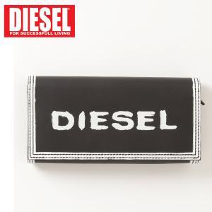 ディーゼル DIESEL グラフィックロゴ レザー 長財布 本革 メンズ ブランド|topism