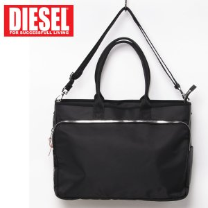DIESEL ディーゼル 2WAY トートバッグ ショルダーバッグ ビジネスバッグ メンズ ブランド|topism