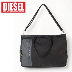 DIESEL ディーゼル 2WAY メンズ トートバッグ ショルダーバッグ ビジネスバッグ メンズ ブランド|topism