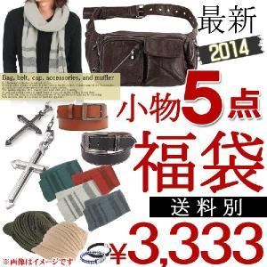 福袋 メンズ 小物5点入り 2014年 秋冬|topism