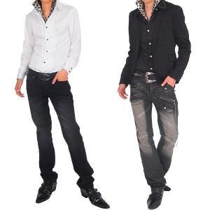 シャツ メンズ サテンシャツ ボタンダウン デュエボットー二 白シャツ ドレスシャツ|topism|06