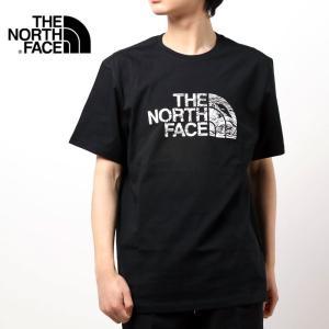 THE NORTH FACE MENS TEE ザ ノースフェイス Tシャツ ハーフドーム プリント クルーネック 半袖 WOOD DOME TEE メンズ ブランド|topism