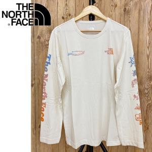 THE NORTH FACE ザ ノースフェイス スリーブロゴ ヒマラヤンボトル クルーネックロングTシャツ|topism