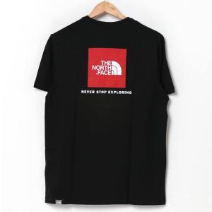 THE NORTH FACE MENS TEE ザ ノースフェイス Tシャツ バックスクエアロゴ クルーネック 半袖 S/S Tee メンズ ブランド|topism