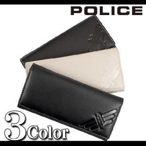 長財布で牛革の二つ折り財布デザインならメンズ長財布で人気のポリス POLICE  さいふ ウォレット ウオレット メンズファッション 通販|topism