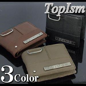 ポリス POLICE 財布 メンズ さいふ サイフ 二つ折り財布 ウォレット財布 ウォレット メンズ財布 ウオレット メンズファッション 通販|topism
