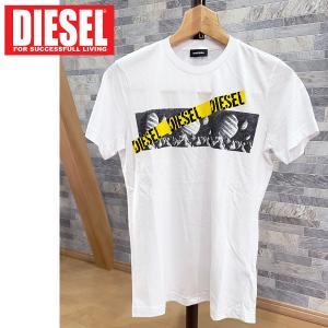 DIESEL ディーゼル フォトグラフィック プリント クルーネック Tシャツ 半袖「LO-T-DIEGO-STONE MAGLIETTA」メンズ ブランド|topism