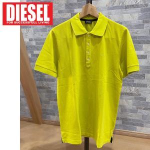 DIESEL ディーゼル ワンポイント ロゴ刺繍 半袖ポロシャツ「T-NIGHT-BROKEN POLO」メンズ ブランド ゴルフ|topism