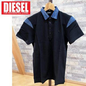 DIESEL ディーゼル ZIPポケット ワンポイント ロゴ 半袖ポロシャツ「T-KAL-3 POLO」メンズ ブランド ゴルフ|topism