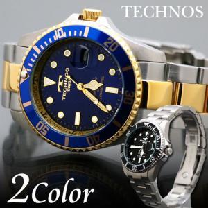 腕時計 メンズ 10気圧防水 クオーツ TECHNOS ステンレス 新作 メンズウォッチ ウォッチ クォーツ 電池 メンズファッション 通販|topism