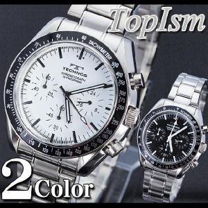 腕時計 メンズ クロノグラフ テクノス 新作 2012 メンズウォッチ ウォッチ メンズファッション 通販|topism