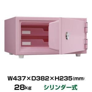 日本アイエスケイ リバーシブル錠タイプ 耐火金庫 CPS-30K ペールピンク|topjapan