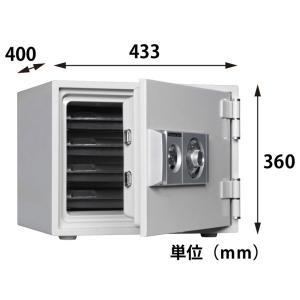 ダイヤセーフ ダイヤル式 耐火金庫 D34-4|topjapan