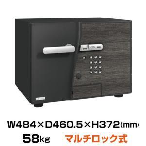 搬入設置料金込 エーコー マルチロック式 耐火金庫 DFS2-FE シリンダーキー 指紋認証 テンキー EIKO|topjapan