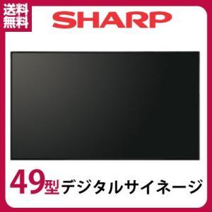 1月下旬までの特価! シャープ デジタルサイネージ 49型 PN-Y496 本体|topjapan