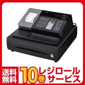 在庫限りレジスター 本体 カシオ SE-S30-BK ブラックカシオ ロール紙10巻付 小型