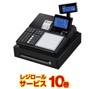 レジスター カシオ  SR-C550-4S ブラック レジロール10巻付 飲食店向け