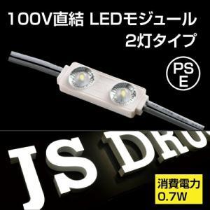 LEDモジュール チャンネル専用100V 消耗電力0.5W 最大連結200個 省エネ 看板用ライト 照明機材 jy-1850【送料無料】 topkanban