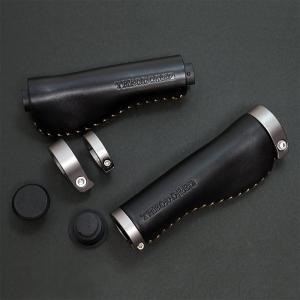 THEODORE セオドール イタリアンレザー 本革グリップ 138mm Black|topmart-s