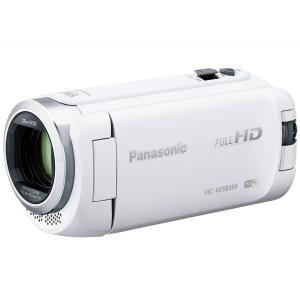 パナソニック Panasonic HC-W585M-W ホワイト デジタルハイビジョン ビデオカメラ 64GB ワイプ撮り 新品|topone1