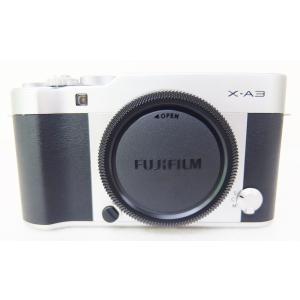 富士フイルム FUJIFILM X-A3 ダブルズームレンズキット シルバー ミラーレス一眼カメラ X-A3WZLK-S 店頭展示品|topone1