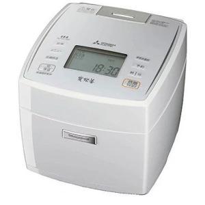 MITSUBISHI 三菱 IHジャー炊飯器 一升炊き NJ-V18J6-W ピュアホワイト (NJ...