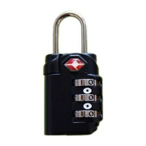 錠 TSA ダイヤルロック ブラック