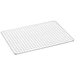 定番グリルの替え網です。  サイズ:約22.5×34.5cm 重量:約200g 材質:スチール 対応...