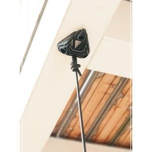 木造住宅はもちろん、鉄筋コンクリート住宅にも取り付け可能なチェアハンモック用取り付け器具です。雨や紫...