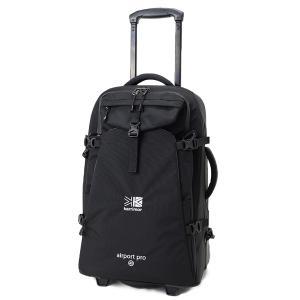 背負えるキャリーバッグ。 現地行動に便利なトートバッグ付き。  容量:40L サイズ:H55×W40...