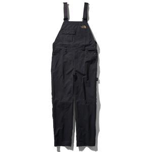 ノースフェイス ファイヤーフライオーバーオール(メンズ)ブラック Sサイズ NB81946-K
