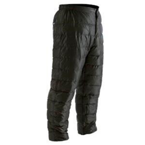 冬に暖かいダウンパンツ。 体のラインに近い形なので、動きやすく気軽にご使用できます。 右側お尻部にポ...