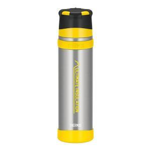 山のフィールドで要求される多くの条件を想定して作られたボトル。 しっかり握れるボディリングに、衝撃に...