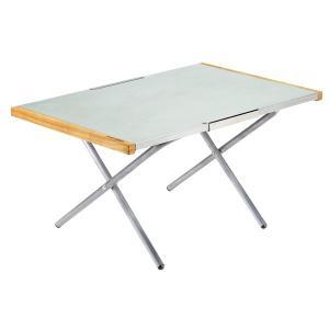 ガンガン使える頼もしいサイドテーブル、人気の焚き火テーブルのラージモデル。 約1.6倍のサイズで高さ...