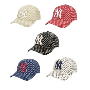 [MLB KOREA] NY Yankees Monogram curve 調節 cap *32CP...